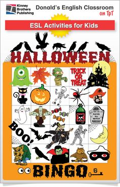esl games halloween bingo - Esl Halloween Games