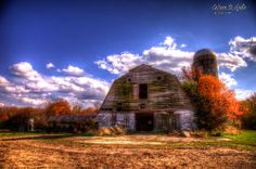 Abandoned farm in Salem county New Jersey