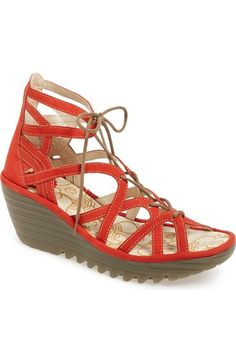 a3650b1ae4 Fly London 'Yuke' Platform Wedge Sandal (Women) available at #Nordstrom Fly