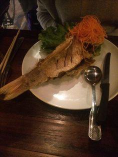 Fish en Restaurant Tailandés en la 8tava Avenida .