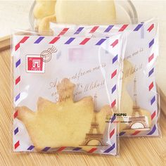 New Arrival Real 100pcs Gingersnap Food Bag England Style Flexo Printing Plastic Moisture Proof Whey Protein Bags Package