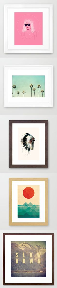 Framed Art Prints and millions of other products available atSociety6.com today. Every purchase supports independent art and the artist that created it.