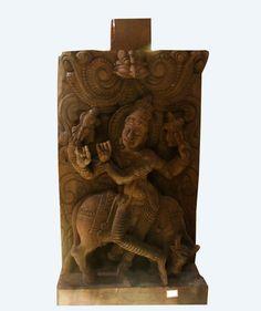 Hindu Art, Art And Architecture, Folklore, Kerala, Lion Sculpture, Museum, Museums, Indian Art