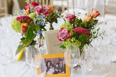 Flowers at Morden Hall Wedding Venue in London
