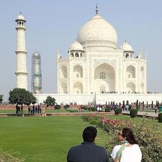 #mytajmemory @ash.meaux nice eh? by gogita #IncredibleIndia #tajmahal
