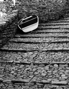 A boat on the cobble