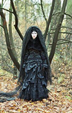 Gothic model Agnieszka Koseatra