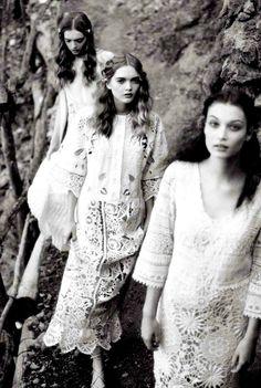 "Duchess Dior: ""Picnic in Mallorca"" by Ellen von Unwerth for Vogue Italia Suggestions May 2015"
