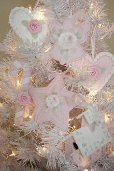 where do all these beautiful shabby chic ornaments come from?