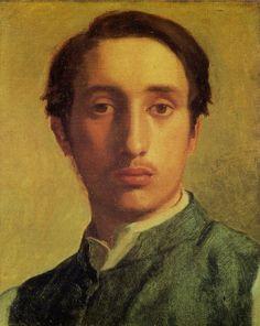 Edgar Degas - self portrait