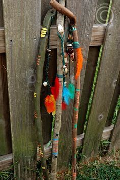 walking stick -good ideas to do with ours - broom handle inspiration
