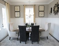Love the Wainscoting in the formal dining room - D.R. Horton #FindYourHome #SouthCarolina