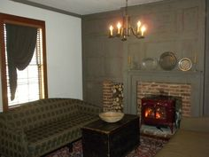 Keeping Room Colonial And Rustic On Pinterest