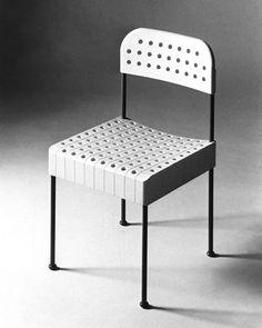 Sedia Box di Enzo Mari per la Castelli Draide, 1971