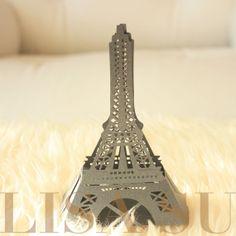 20 Eiffel Tower French Theme Laser cutout wedding sweet por lisasu, $22.00