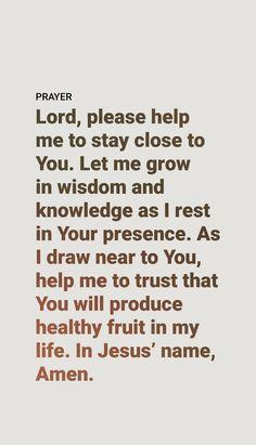 Prayer Scriptures, Bible Prayers, Faith Prayer, Bible Verses Quotes, Faith Quotes, Spiritual Prayers, Spiritual Words, Praise Quotes, Good Prayers