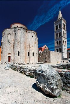 Inside Zadar: Top 5 attractions : Zadar blends ancient sights and modern architecture.Here are the five-must-see sights in this small Dalmatian city. @buggl