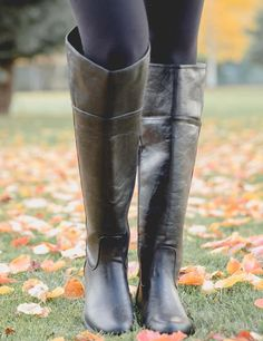 How The Non-Equestrian Wears Riding Boots Black Riding Boots, Black Leather Boots, Knee High Boots, High Heels, Ladies Wellies, Equestrian Boots, Worship, Autumn Fashion, Tights