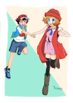 I don't care how many Girls excist in the Pokemon Anime, Games or Manga, Serena will ALWAYS be my No. 1 Girl for Ash! Pokemon Ships, Type Pokemon, All Pokemon, Pokemon Kalos, Pokemon Manga, New Pokemon Series, Digimon Cosplay, Pokemon Ash Ketchum, Pokemon Ash And Serena