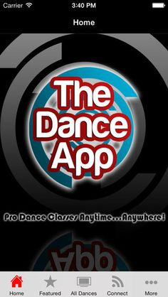 iPhone Screenshot 1- dance classes