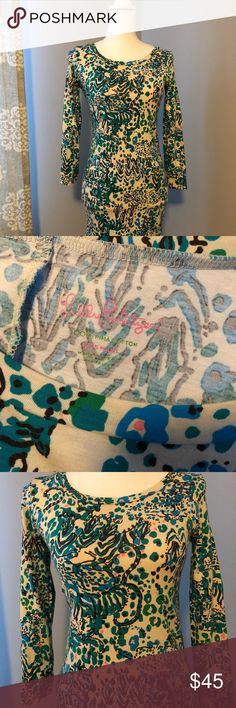 Lilly pullitzer dress Beautiful Lilly dress, worn once Lilly Pulitzer Dresses Mini