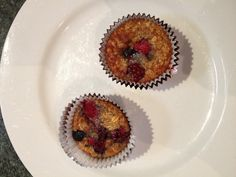 Blackberry banana muffins :)