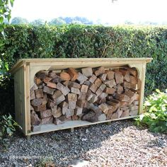 Melbury Log Store (6ft wide)