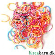 Loom Elastikker Inside/Out; 300 elastikker 35 kr.  – Kreabarn.dk Danmarks største udvalg af tilbehør og elastikker til loom, fun loom og rainbow loom.