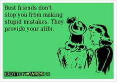 best friends, great alibi