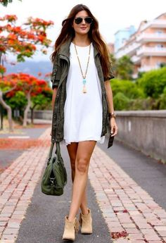 Modern Safari - Outfit Ideas For Spring 2015 Fashion Trends spring outfits, casual spring outfit, spring fashion 2015 Fashion Trends, Spring 2015 Fashion, Autumn Winter Fashion, 30 Outfits, Spring Outfits, Fashion Beauty, Womens Fashion, Passion For Fashion, Style Inspiration