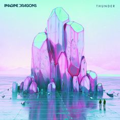 Imagine Dragons never fail to impress with their cover art. Album Imagine Dragons, Imagine Dragons Thunder, Imagine Dragons Evolve, Art And Illustration, Cinema 4d, New Retro Wave, Imagines, Monster, Surrealism
