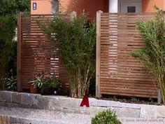 geniesser garten sichtschutz - Sichtschutz Holz Modern