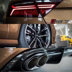 2of2: #Zanzibarbrown #RS7performance with #Akrapovic AudiSport performance exhaust  oooo : #AudiForumNeckarsulm : @audiforumneckarsulm oooo #audidriven = a 'state of mind' oooo #Audi #RS7 #AudiRS7 #quattro #quattroGmbH #AudiSport #Audicolor #brownAudi #ауди #AudiSportcars #audiaustria #AudiRSperformance @akrapovic_official #akrapovicexhaust #audiforum #neckarsulm #audineckarsulm