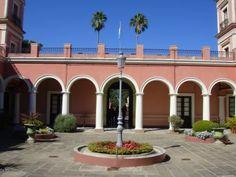 Patio del antiguo Palacio Colonial de San José,  en Entre Ríos, Argentina