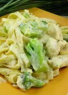 Easy Dinner Recipes Chicken Broccoli Alfredo Recipe