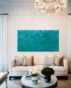 Soft Lake Ripples. 2016. Sold Commission.Available prints#coastal painting #margaretjuul #marineart #seascape