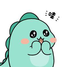 Manga Anime, Anime Art, Dinosaur Wallpaper, Cute Easy Drawings, Baby Dino, Cute Dinosaur, Minimalist Art, Emoji, Smurfs
