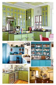 colorful - Colorful Kitchen Design