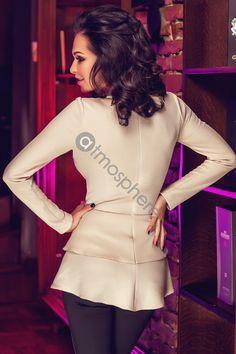 Bluza fagure nude Bln 71 - Atmosphere Fashion