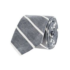 For your Preppy Pal: Thin-Stripe Tie by J. Crew