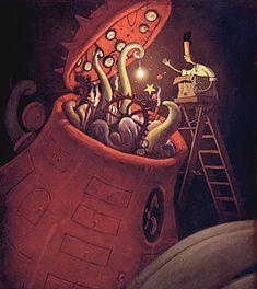 Maravillosas ilustraciones de cuentos.