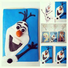 #Anna & #Elsa #Olaf Cookies