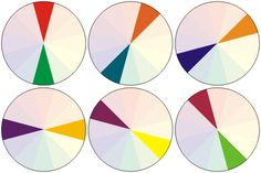 Complimentary Color Schemes - complimentary colors are those that appear opposite to one another on the color wheel.