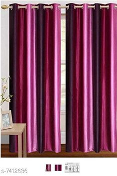 buy curtains sheers blissful house fasionable 3d purple curtain pack of 2 pcs heavy metal eyelet curtain for rs579 cod and easy return
