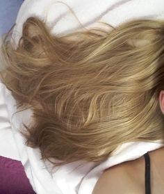 My honey blond baleyage