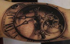 Tattoo by Travis Jones at Skin Gallery Tattoo & Piercing in Corner Brook, Newfoundland and Labrador, Canada Arm Tattoo, Tattoo You, Compass Tattoo, Body Art Tattoos, Cool Tattoos, Tatoos, New Age Tattoo, Ukrainian Tattoo, Realistic Tattoo Artists