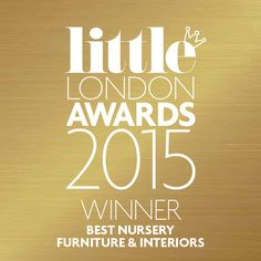 Notting Hill won Best Nursery Furniture and Interiors at the Little London Awards. We love an award - although our biggest success is when parents and babies love our products, so a big thanks to all the Little London readers who voted for us.