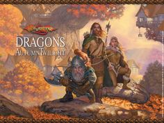 Dragonlance Chronicles Volume 1: Dragons of Autumn Twilight by Margaret Weis & Tracy Hickman