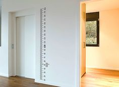 Ruler Height Chart Sticker growth chart Vinyl Decal Kit DIY Wall wooden board