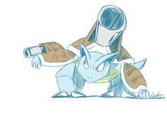 Mega Blastoise by LittleScarecrow on deviantART